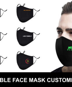 CUSTOM-MADE FACE MASK with logo print (MADE IN MALAYSIA)
